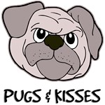 Pug T-Shirt - Pugs And Kisses