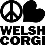 Peace Love Welsh Corgi