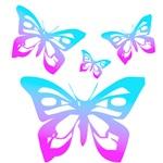 Falling Rocker Butterflies!