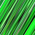 Green Diagonal Stripes