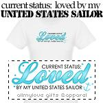 Status: Loved By My Sailor T-Shirts and Gifts