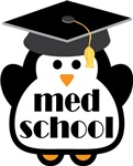 Med School penguin tees and gifts