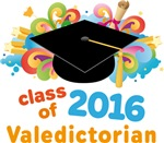 Valedictorian Colorful 2016 Graduate Gifts