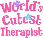 Worlds Cutest Therapist Gifts and T-shirts