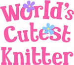 Worlds Cutest Knitter Gifts and T-shirts