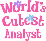 Worlds Cutest Analyst Gifts and T-shirts