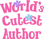 Worlds Cutest Author Gifts and T-shirts