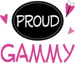 Proud Gammy Butterfly T-shirts and Gifts