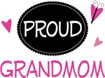 Proud Grandmom Butterfly T-shirts and Gifts