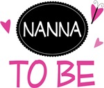Nanna to Be Butterfly T-shirts and Gifts