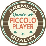 Piccolo Player T-shirts (Premium Quali