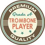 Trombone Player T-shirts (Premium Quali