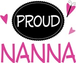 Proud Nanna Butterfly T-shirts and Gifts