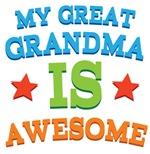 My Great Grandma Is Awesome Kids Tshirts