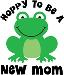 Hoppy to be a New Mom Gifts and T-shirts