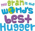 Gran Is Worlds Best Hugger