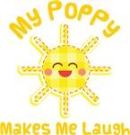 My Poppy Makes Me Laugh Kids Apparel