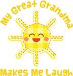 My Great Grandma Makes Me Laugh Kids Apparel