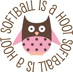 SOFTBALL IS A HOOT OWL TEES AND GIFTS