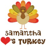 Copy of Personalized Turkey Lover Thanksgiving