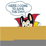 Mighty Mouse Customized Quote T-shirts