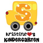 Personalized Kindergarten T-shirts