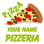 Personalized Pizza Restaurant Gifts