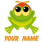 Personalized Frog T-shirts and Mugs