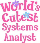 Worlds Cutest Systems Analyst Gifts and Tshirts