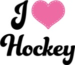 I Heart Hockey T-shirts and Gifts