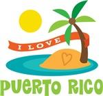 I Love Puerto Rico T-shirts