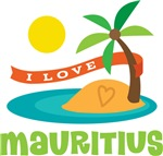 I Love Mauritius T-shirts