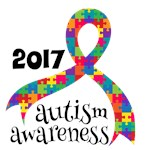 2014 Autism Awareness Month Ribbon