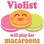 Violist Music Funny Orchestra T-shirts