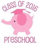 Class Of 2016 Preschool Tshirts