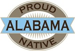 Proud Alabama Native T-shirts