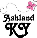 Ashland Kentucky Butterfly T-shirts and