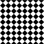 Diamond Black White Pattern Gifts