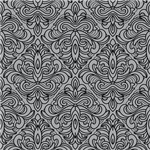 Art Deco Damask gray gifts