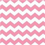 Chevron Zigzag Pink Striped Gifts