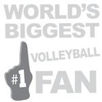 Volleyball Fan Foam Hand Tees