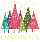 Cheyenne Wyoming Holiday Tshirts