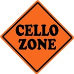 Funny Cello Zone Music Gifts and tees