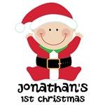 Santa Claus Christmas Baby Tees