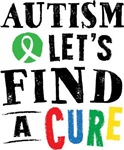 Autism Lets Find A Cure tees
