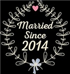 Floral Married Since Wedding Anniversary Gifts