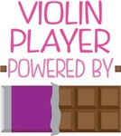 VIOLIN PLAYER powered by chocolate
