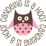 CANOEING IS A HOOT OWL TEES AND GIFTS