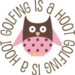 GOLFING IS A HOOT OWL TEES AND GIFTS