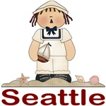 Seattle Sailor T-shirts and gifts